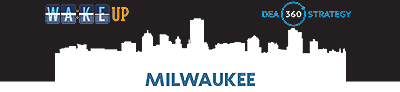banner for Milwaukee 'Wake up' site