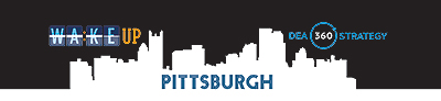 banner for Pittsburgh 'Wake up' site