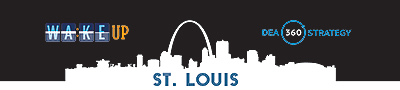 banner for St. Louis 'Wake up' site