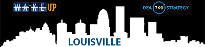 banner for Louisville 'Wake up' site