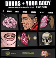How Drugs Affect Your Looks and Your Body | Just Think Twice