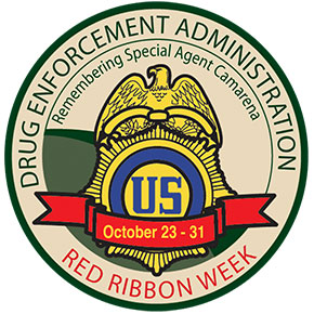 Red Ribbon Week Patch