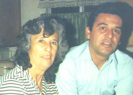 Kiki and his mother, Dora Salazar-Camarena.
