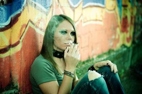 Teen smoking