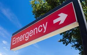 emergency room signage