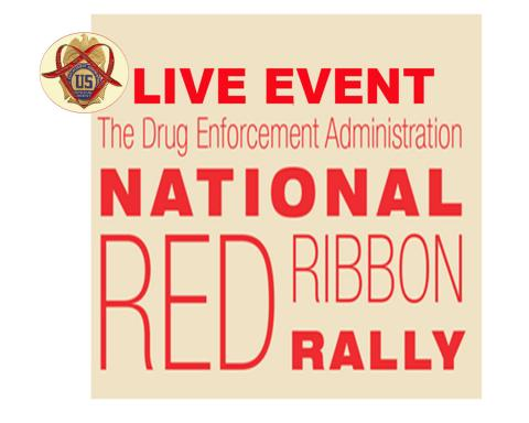 Red Ribbon Week Rally graphic