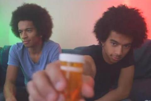 """screen shot from """"The Twins"""" anti-drug PSA"""