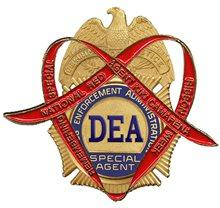 DEA Red Ribbon badge