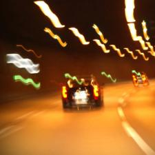 blurry image of the road