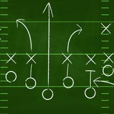 football playbook illustration